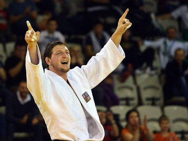 Judista Lukáš Krpálek, čerstvý mistr Evropy, dál prahne po olympijské medaili.