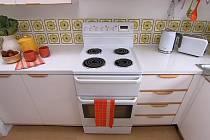 Retro kuchyňka ve stylu 70. let