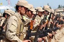Hlavní vojenskou silou Kurdů jsou milice označované zkratkou YPG. Ilustrační foto.