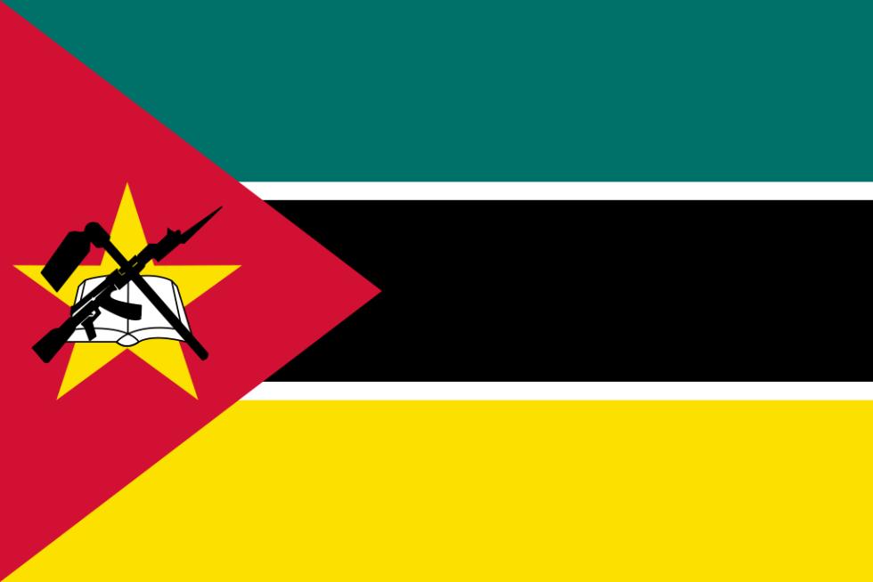 Vlajka Mozambiku
