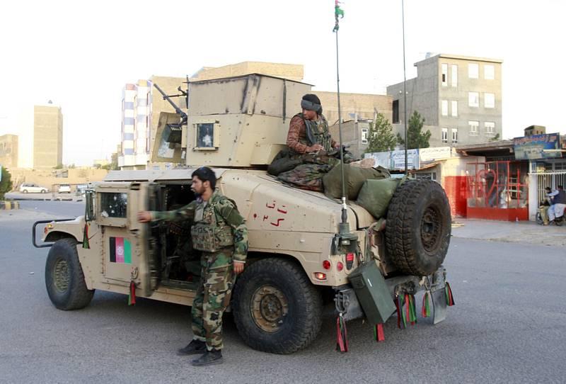 Vojáci afghánské armády ve městě Herát