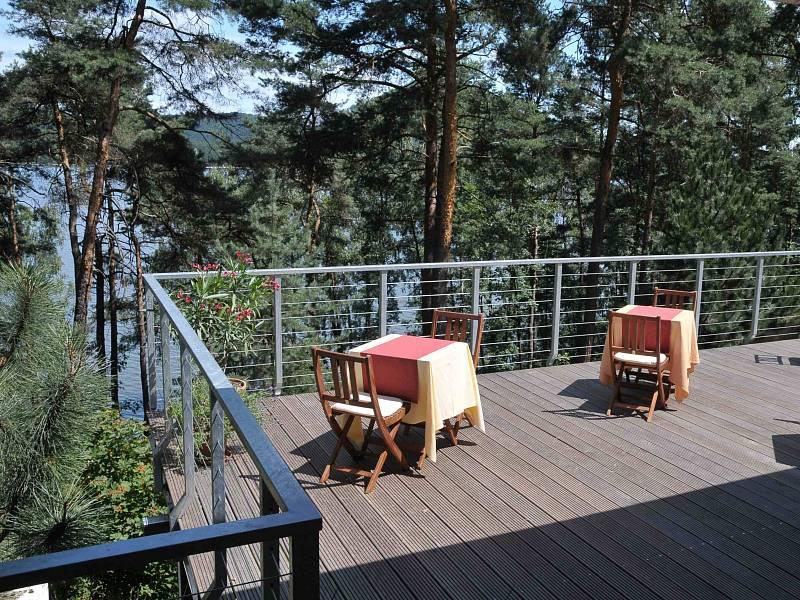Nejstarší pension na břehu Máchova jezera