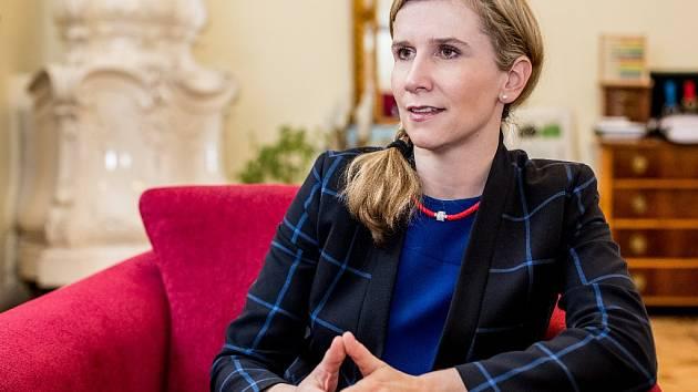 Ministryně školství Kateřina Valachová.