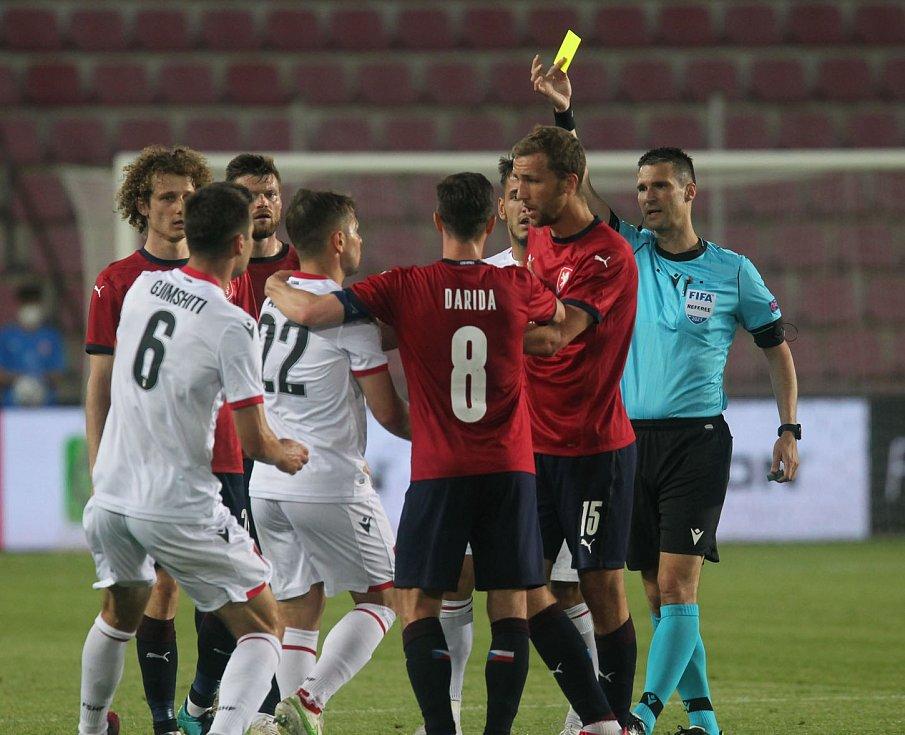 Přátelské utkání Česko - Albánie