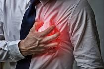 INFARKT. Rizikové faktory: dlouhotrvající stres, nezdravý životní styl: kouření, obezita a nedostatek pohybu, vysoký krevní tlak,vysoký cholesterol.