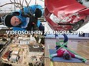 Videosouhrn Deníku – pátek 23. února 2018