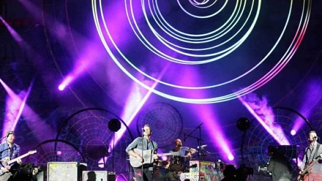 Coldplay v Synot Tip Areně v neděli 16.září.