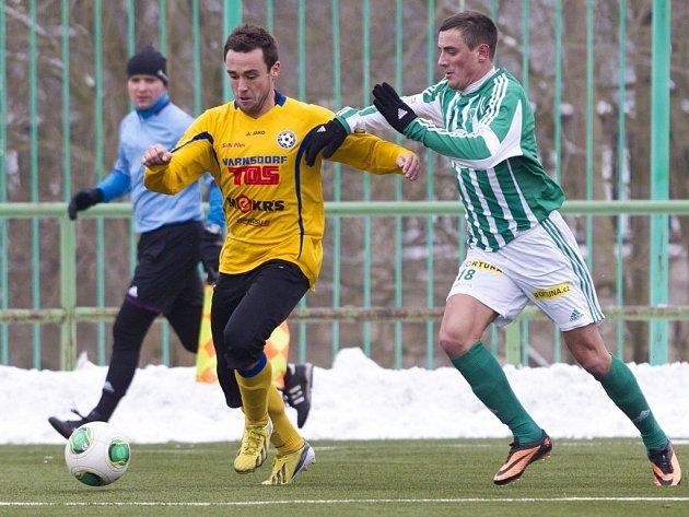 Fotbalisté Bohemians ještě ve čtvrtek hráli s Varnsdorfem, v pátek už mířili do tepla