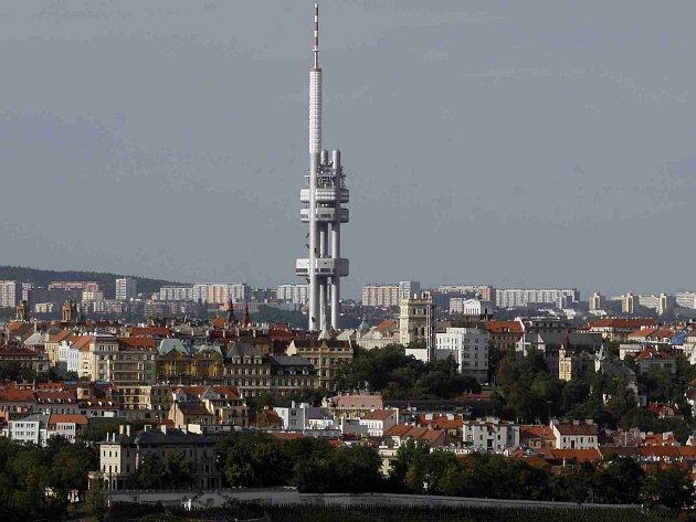 Žižkovský vysílač v Praze