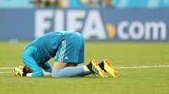Alireza Beiranvand odchytal proti Portugalsku skvělý zápas.