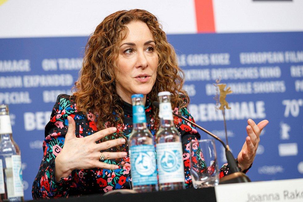 Joana Rakoff na festivalu Berlinale
