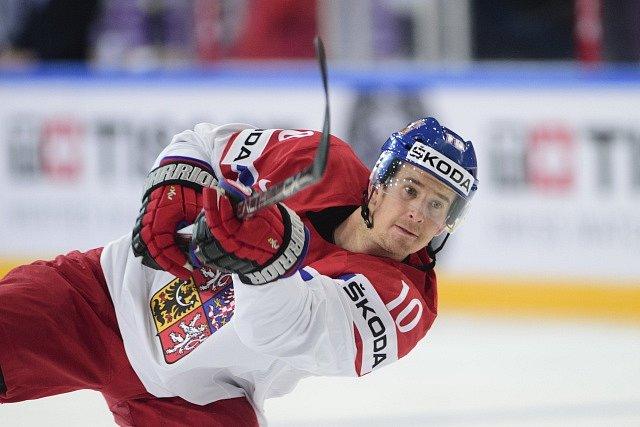 Český reprezentant Roman Červenka