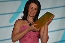 Veronika Vítková byla zvolena nejlepší biatlonistkou sezony.