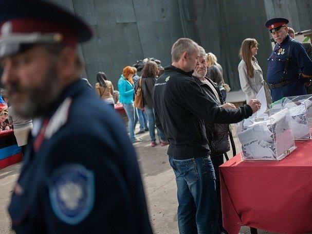 Referendum na Ukrajině.