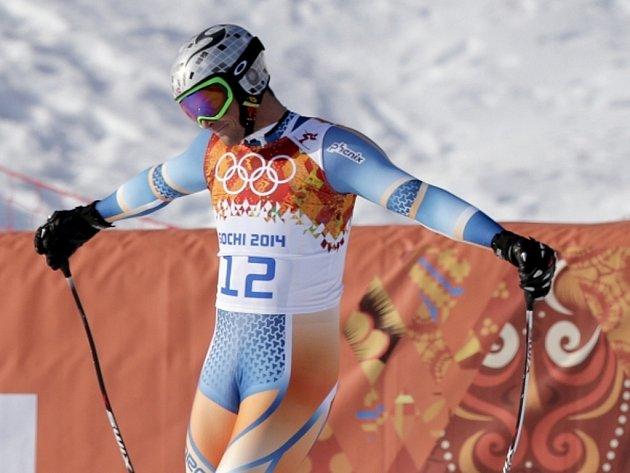 Aksel Lund Svindal se kvůli alergii a únavě ukončil své účinkování na olympijských hrách v Soči.