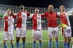 Odvetné utkání 4. předkola fotbalové Ligy mistrů: Slavia Praha - CFR Kluž