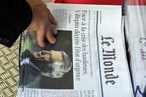 Deník Le Monde. Ilustrační foto.