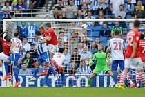 Zápas Barnsley (v červeném) ve druhé anglické lize