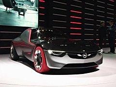 Koncept Opel GT.