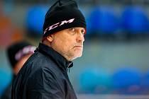 Trenér hokejistů Hradce Králové Vladimír Kýhos.