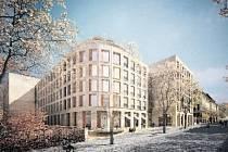 KAMPUS NA ALBERTOVĚ. Vítězný snímek architektonické soutěže pochází od Juraje Matuly, Richarda Sideje a Martina Tycara z uskupení Znamení čtyř.