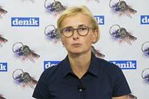 Europoslankyně Kateřina Konečná odpovídá na otázky pohledně listopadu 89.