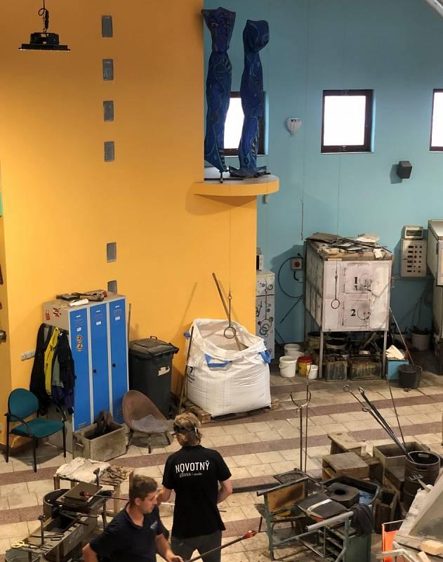 Sklářské muzeum Novotný Glass v Novém Boru