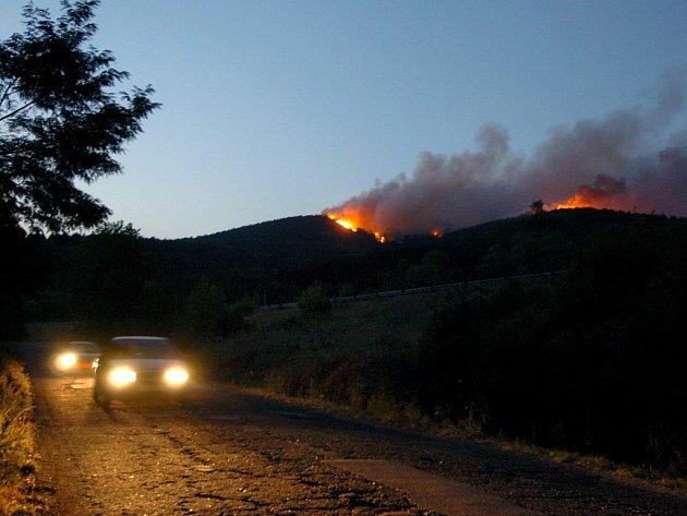 Mohutné požáry řádí téměř po celé Evropě.