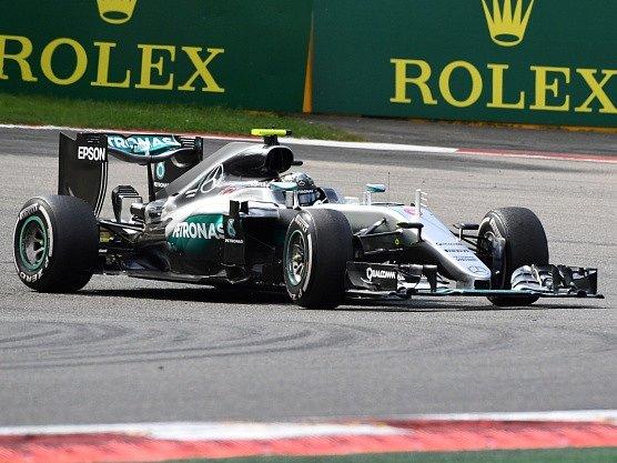 Nico Rosberg - vítěz Velké ceny Belgie 2016