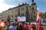 MS v orientačním běhu: Smíšené sprintové štafety v Doksech