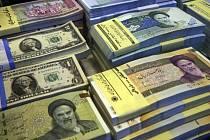 Íránský riál - ilustrační foto