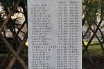Pomník připomíná 29 popravených