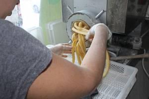 Výroba těstovin Pasta Fidli v Mníšku pod Brdy