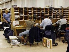 Antimopolní úřad prošetřuje zakázku na výstavbu třídírny České pošty v ústeckých Předlicích za několik set milionů korun.