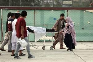 Bombový útok v Kábulu