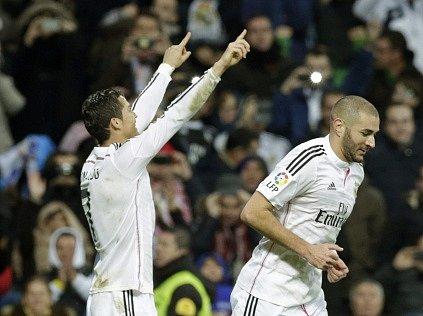 Cristiano Ronaldo slaví hattrick do sítě Celty Vigo