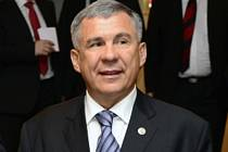 Prezident Tatarstánu Rustam Minnichanov.