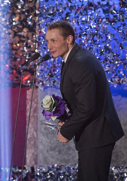Za dvě stříbrné a jednu bronzovou medaili z OH v Soči si biatlonista Ondřej Moravec vysloužil v anketě Sportovec roku čtvrté místo.