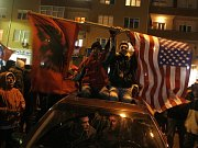 Oslavy v Kosovu pokračovaly i v pondělí