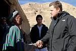 Tomáš Kocián z organizace Člověk v tísni v Afghánistánu