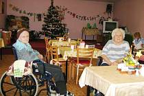 Senioři trávili vánoce většinou v sociálních zařízeních. Ilustrační foto