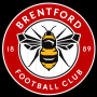 Logo anglického týmu Brentford FC.