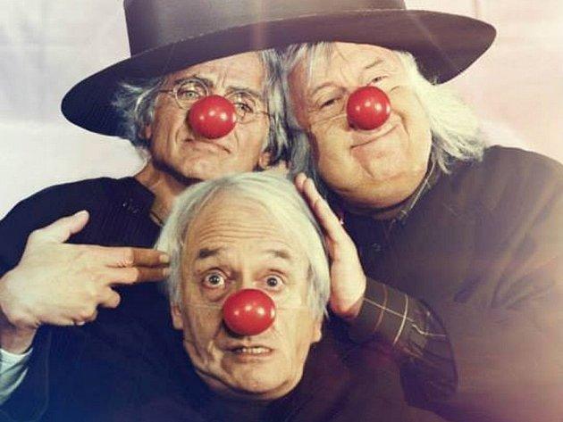 Příběh o pozdním znovushledání klaunského tria spojuje dohromady domácí komediální hvězdy Oldřicha Kaisera a Jiřího Lábuse s evropskou hereckou elitou: Didierem Flamandem, Kati Outinen a Julií Ferrier.