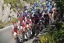 Peloton na Giro d'Italia.
