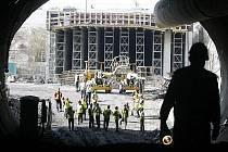 TUNEL BLANKA. Na jeho stavbu padne příští rok sedm miliard korun.