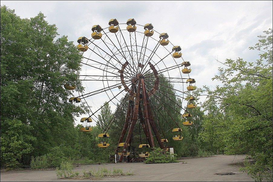 V Černobylu přibývá turistů, Ukrajina chce pro tuto oblast status světového dědictví