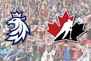 Hokejový zápas Česko versus Kanada