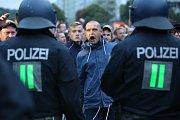 Demonstrace v Saské Kamenici