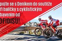 Zapojte se sDeníkem do soutěže o tři balíčky s cyklistickým vybavením od Cofidisu.