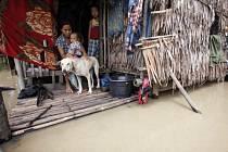 Zápavy v Barmě. Ilustrační foto